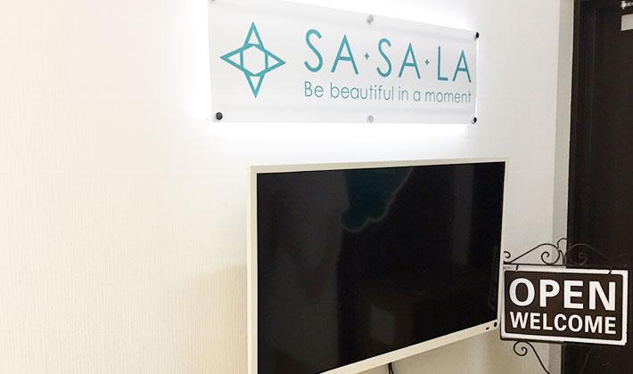 SASALA 銀座店の店舗写真